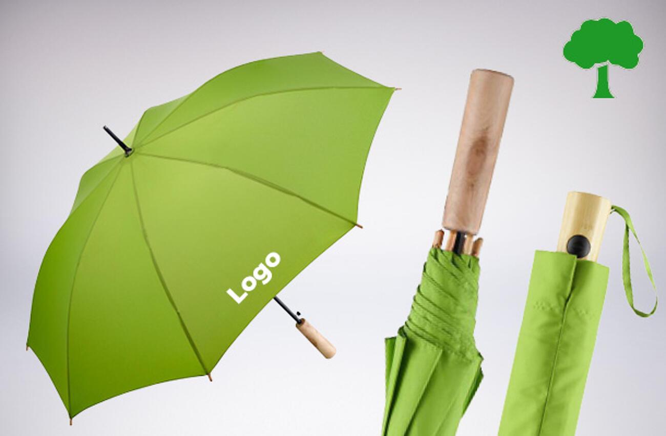 Eco promotional umbrellas