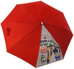 Digital printing on umbrella