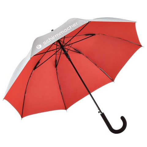 Umbrella cover from inside - red