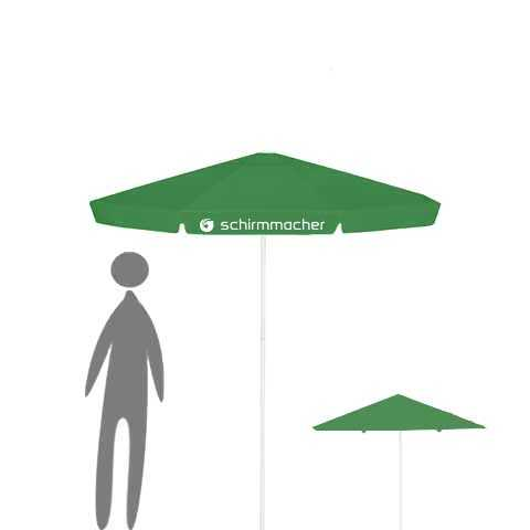Parasol with rope